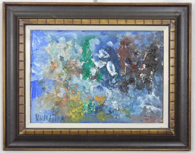 David Burliuk - Russian Painting w Provenance