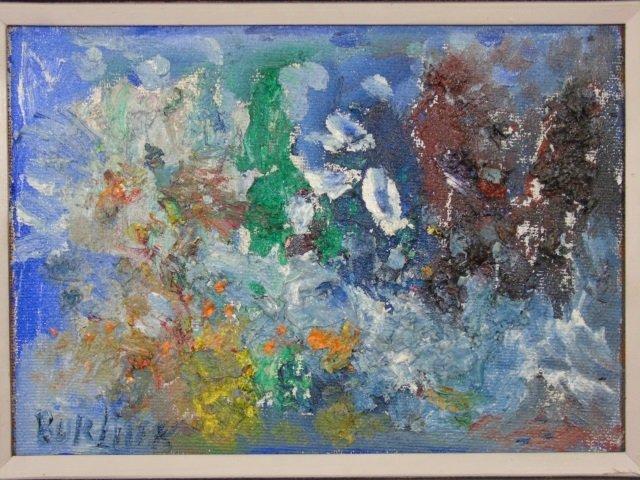 David Burliuk - Russian Painting w Provenance - 7