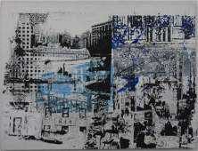 Contemporary Modern New York Cityscape Painting