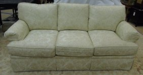 Contemporary Traditional Safavieh Upholstered Sofa