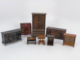 Dollhouse - Vintage Miniature Bespaq Furniture