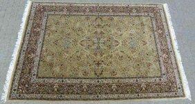 Oriental / Persian Fine Woven Wool Carpet