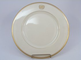 Six United Nations Dinner Plates Circa 1975