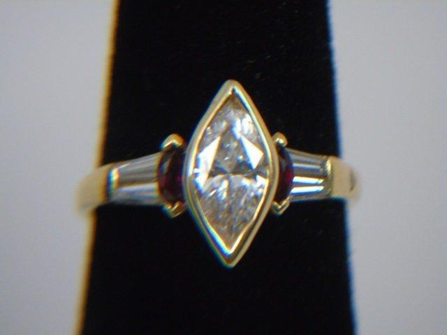 Custom Made 1.25 Carat Diamond Ring