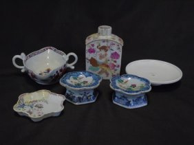 Assorted Antique Chinese Export Porcelain Pieces