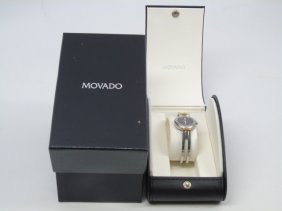 Ladies' Movado Stainless Steel Watch