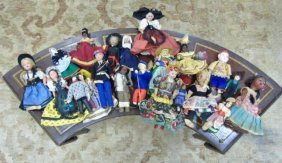 Collection Costumed Foreign Country Dolls