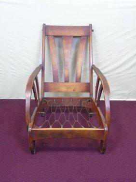 Mid Century Danish Modern Teak Chair