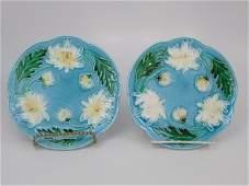 Two Villeroy  Boch Majolica Plates