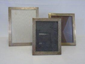 Gorham Black Starr & Frost Sterling Picture Frames