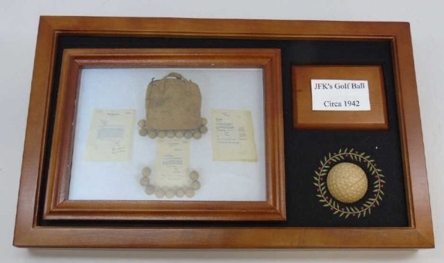 John F Kennedy c. 1942 Golf Ball w/ Provenance 1