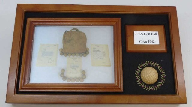 John F Kennedy c. 1942 Golf Ball w/ Provenance 2