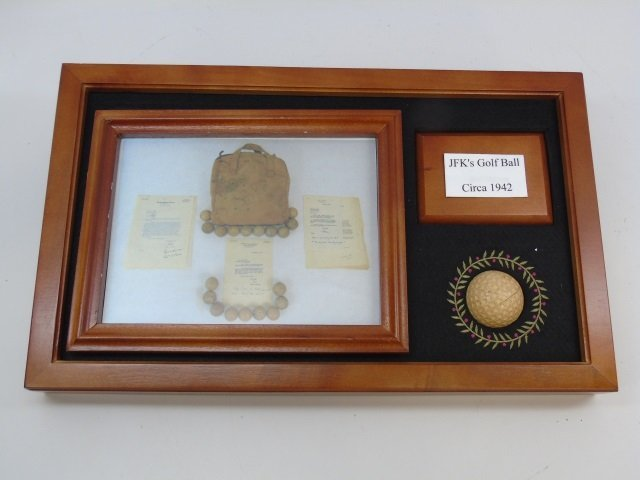 John F Kennedy c. 1942 Golf Ball w/ Provenance 3