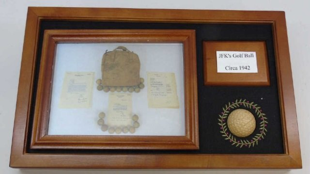 John F Kennedy c. 1942 Golf Ball w/ Provenance 5