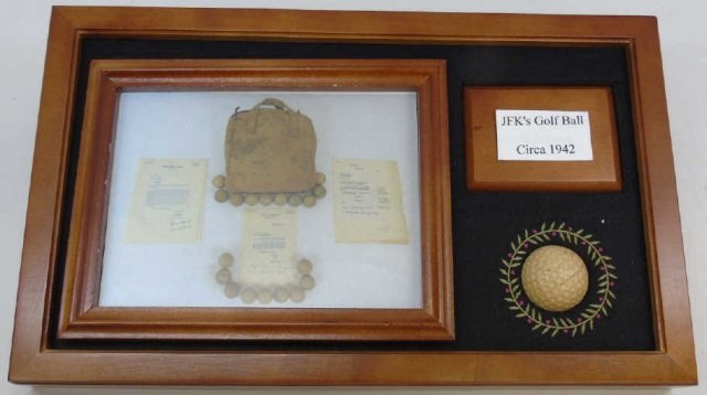 John F Kennedy c. 1942 Golf Ball w/ Provenance 7