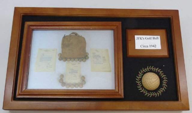 John F Kennedy c. 1942 Golf Ball w/ Provenance 12