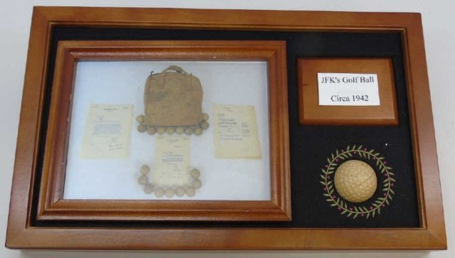 John F Kennedy c. 1942 Golf Ball w/ Provenance 15