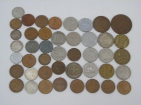 Vintage World Currency Coins
