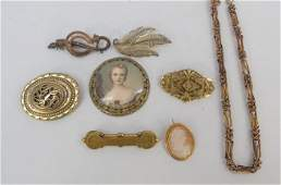 Antique & Victorian Gold Jewelry Items