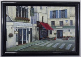 Contemporary Modern Bar Brasserie Painting