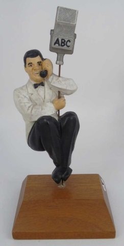 Abc Television Advertisement Statue