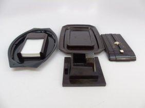 Vintage Bakelite Vanity Trays & Desk Items