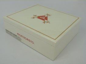 New In Box Monte Carlo Cigar Humidor
