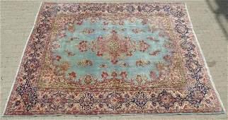 Large Vintage Oriental / Persian Woven Wool Carpet