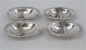 Estate Danish Modern Georg Jensen Sterling Bowls