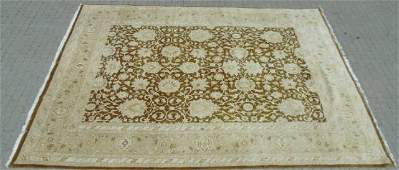 Large Oriental / Persian Wool Knotted Carpet