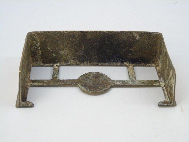 Antique English Salesman Sample Fireplace Fenders - 3