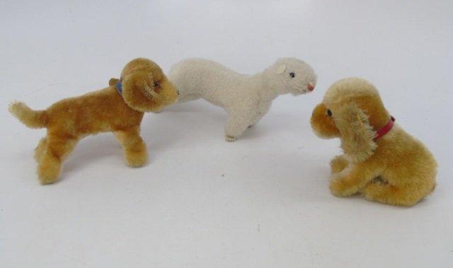 Antique / Vintage German Steiff Stuffed Animals