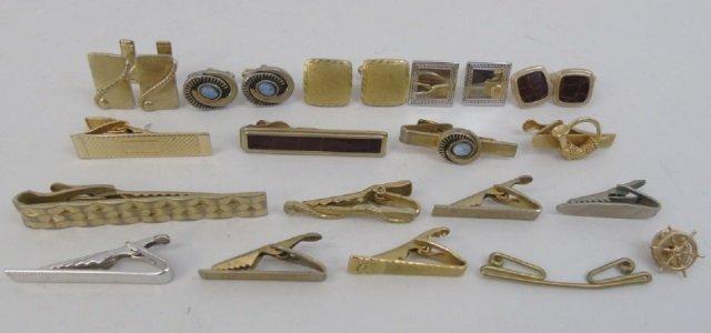 Assorted Vintage Mens Accessories - Cufflink / Tie