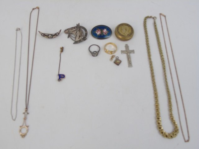 Assorted Antique & Vintage Jewelry Items