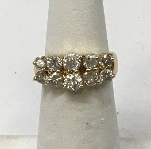 Estate 18kt Yellow Gold 1 Carat Diamond Ring