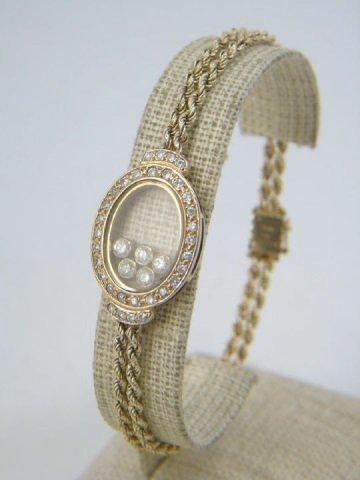 Estate 14kt Yellow Gold 1.6 Carat Diamond Bracelet