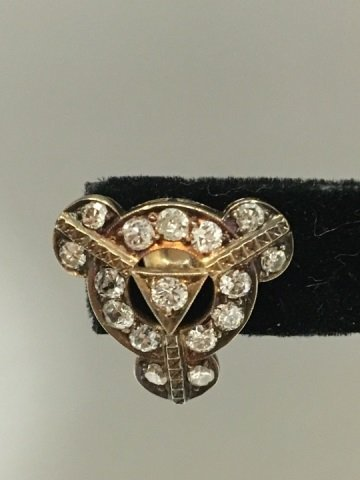 Estate Antique 14kt White Gold 4.8 Carat Earrings - 4