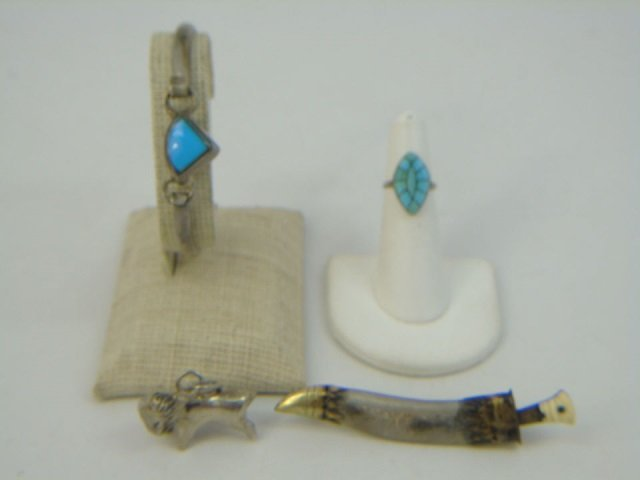 Assorted Vintage Sterling & Silver Jewelry Items