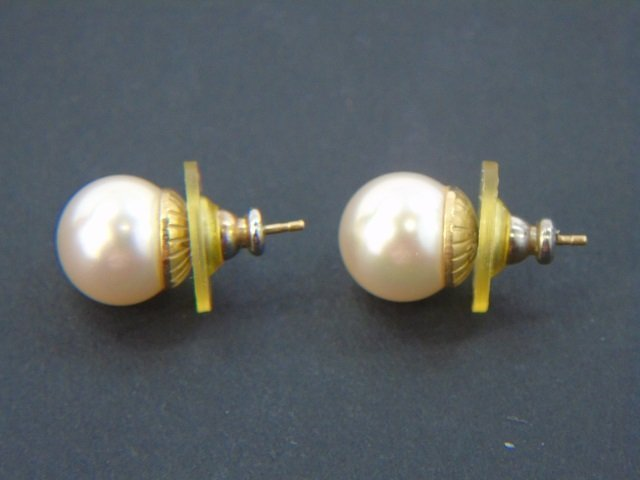 Vintage White Pearl & Sterling Silver Suite - 4