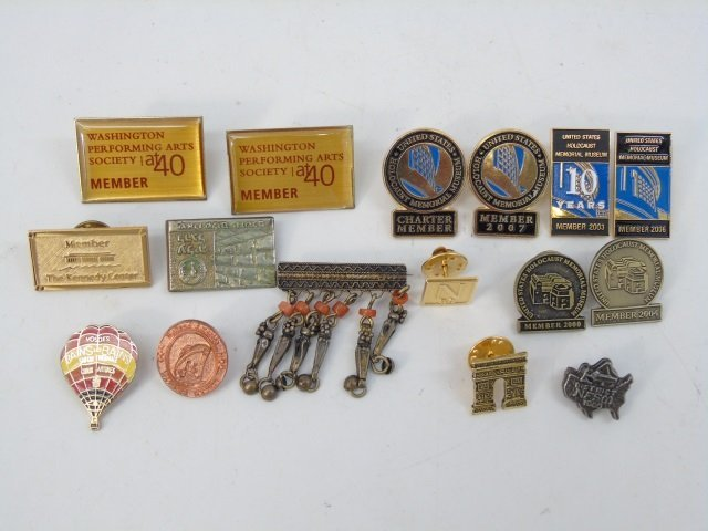 Assorted Vintage Costume Jewelry Pins & Brooches - 4