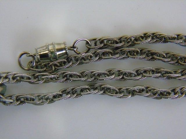 1937 Buffalo Nickel Pendant Necklace w/ Turquoise - 2