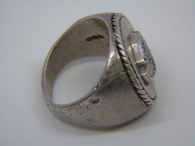 Sterling Silver Harley Davison Ring Size 6 1/2 - 2