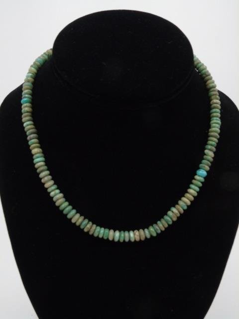 Lot of 4 Natural Stone & Turquoise Bead Necklaces - 3