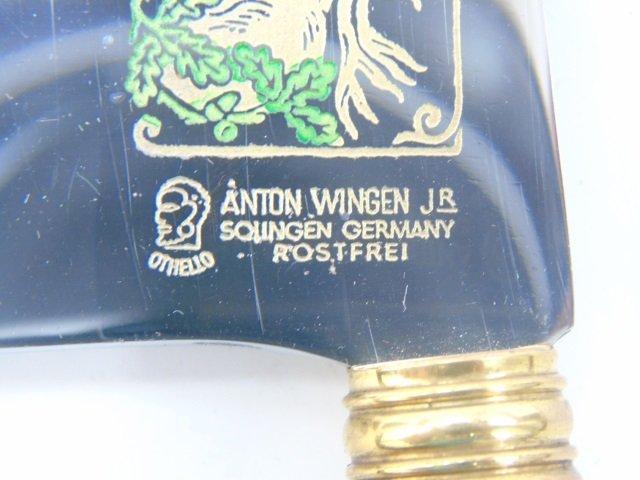 Vintage Carved Antler Utensil Set by Anton Wingen - 5
