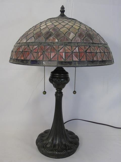 Contemporary Stained Glass Tiffany Style Lamp