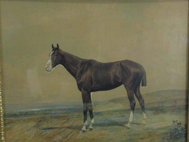 Conrad Peter Schreiber 19th C Equestrian Painting - 3
