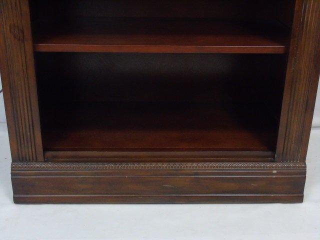 Contemporary Corinthian Column Open Bookcase - 4
