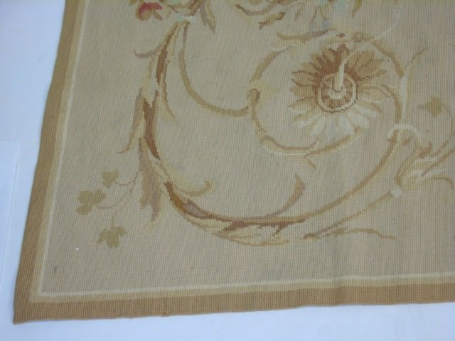 French Aubusson Style Needlepoint Carpet - 3