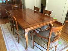 Contemporary Traditional Dining Room Table