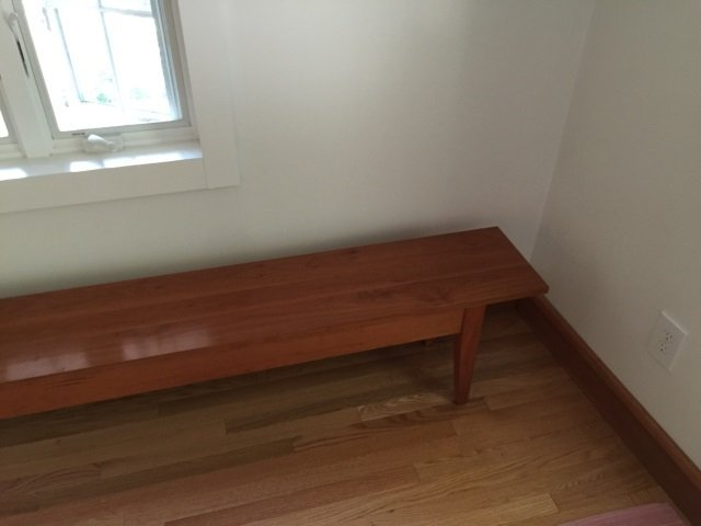 Custom Contemporary Farm Style Hall Bench - 2